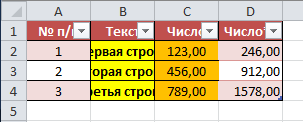 Копирование Ctrl+C - Ctrl+V