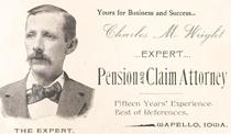 Старая визитка