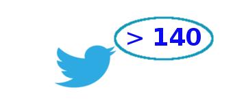 Больше пишем символов в Twitter