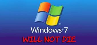 Конец поддержки Windows 7